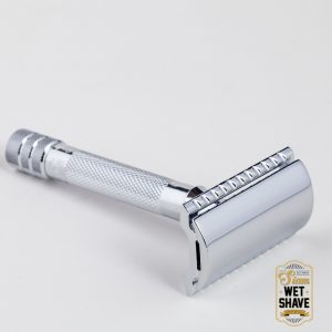 thailand wet shave man of siam manofsiam bangkok safety razor derazor blade shaving brush แปรงโกนหนวด มีดโกน โกนหนวด มีดโกนพับ บาร์เบอร์ muhle bluebeards Revenge Vanguard Synthetics BrushMerkur 33C Safety Razor