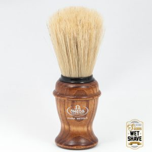 thailand wet shave man of siam manofsiam bangkok safety razor derazor blade shaving brush Omega 11137 Shaving Brush