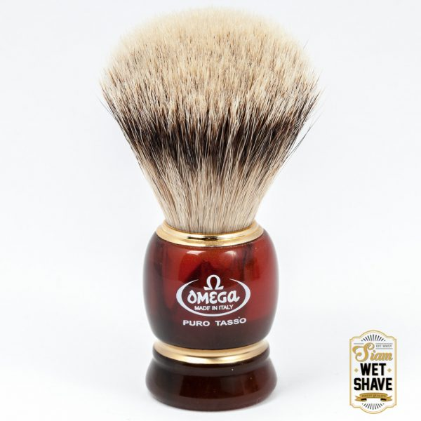Omega 636 Silvertip Shaving Brush