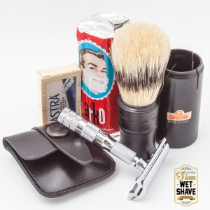 Merkur Travel Shaving Set