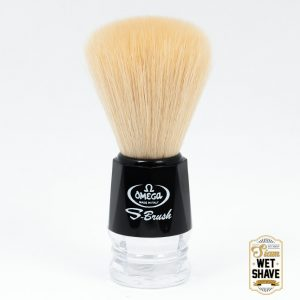 thailand wet shave man of siam manofsiam bangkok safety razor derazor blade shaving brush Omega S10019 Shaving Brush