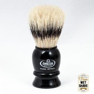 thailand wet shave man of siam manofsiam bangkok safety razor derazor blade shaving brush แปรงโกนหนวด มีดโกน โกนหนวดOmega 13522 Boar Shaving Brush