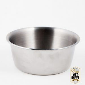 10cm Stainless Shaving Soap Bowl