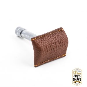 thailand wet shave man of siam manofsiam bangkok safety razor derazor blade shaving brush แปรงโกนหนวด มีดโกน โกนหนวด มีดโกนพับ บาร์เบอร์ muhle Merkur Safety Parker Parker Leather Pouch