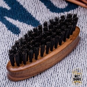 แปรงหนวด แปรงเครา บาร์เบอร์ ฺBBR Bluebeards Revenge Travel Beard Brush Moustache Comb by siam wet shave siamwetshave haircomb bangkok thailand man of siamwetshave manofsiam