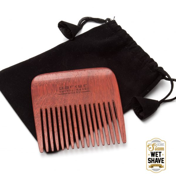 Parker's Premium Rosewood Beard Comb is an important grooming tool to keep your beard looking and feeling its best. Handmade with solid rosewood, these combs are very durable. They provide multiple benefits –reducing beard itch, promoting fuller growth, and keeping the beard softer and shinier. Its wide tooth design will get through the longest of beards!
